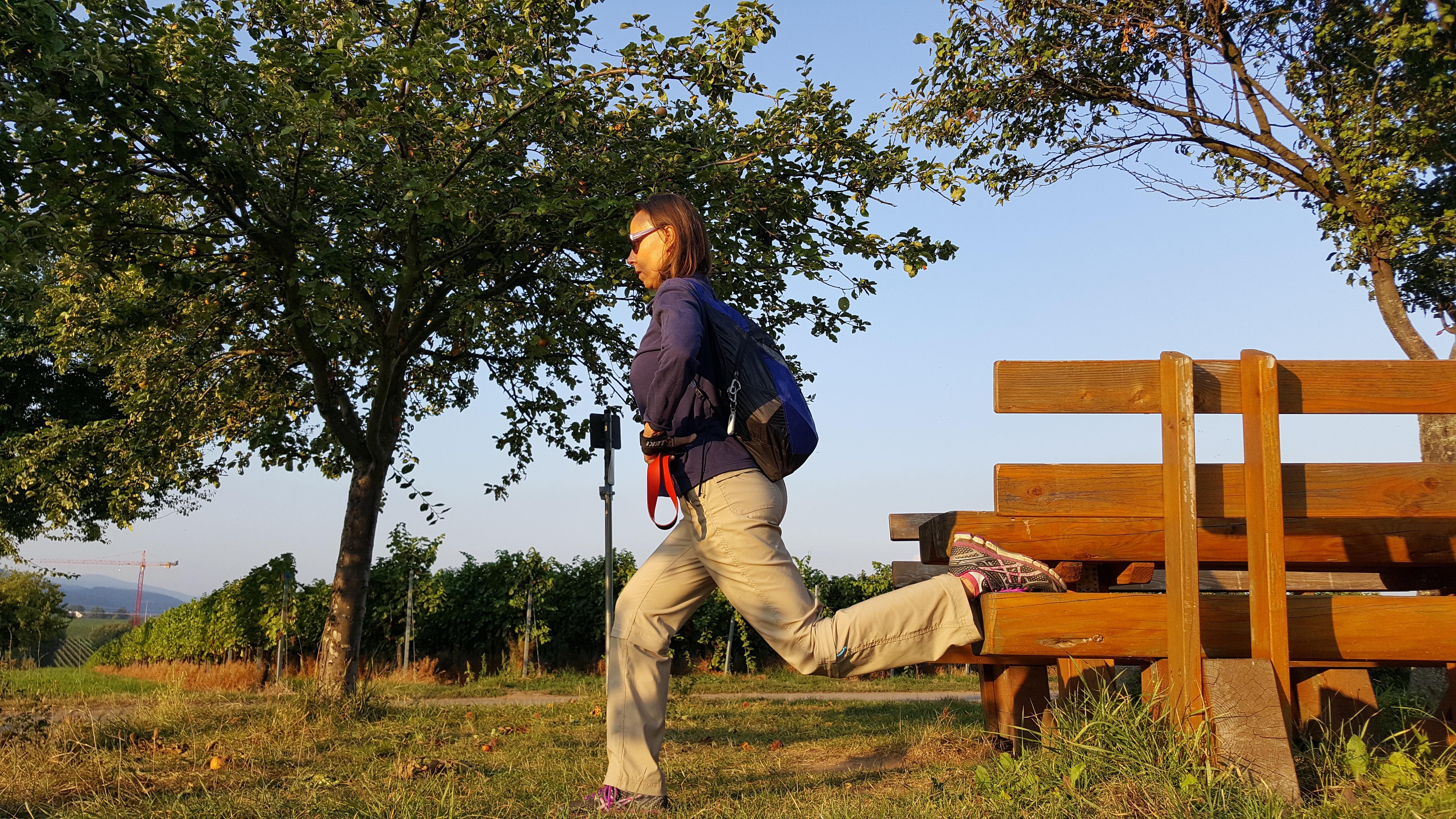 Sitzt Du viel und kommst auch sonst wenig raus an die frische Luft?